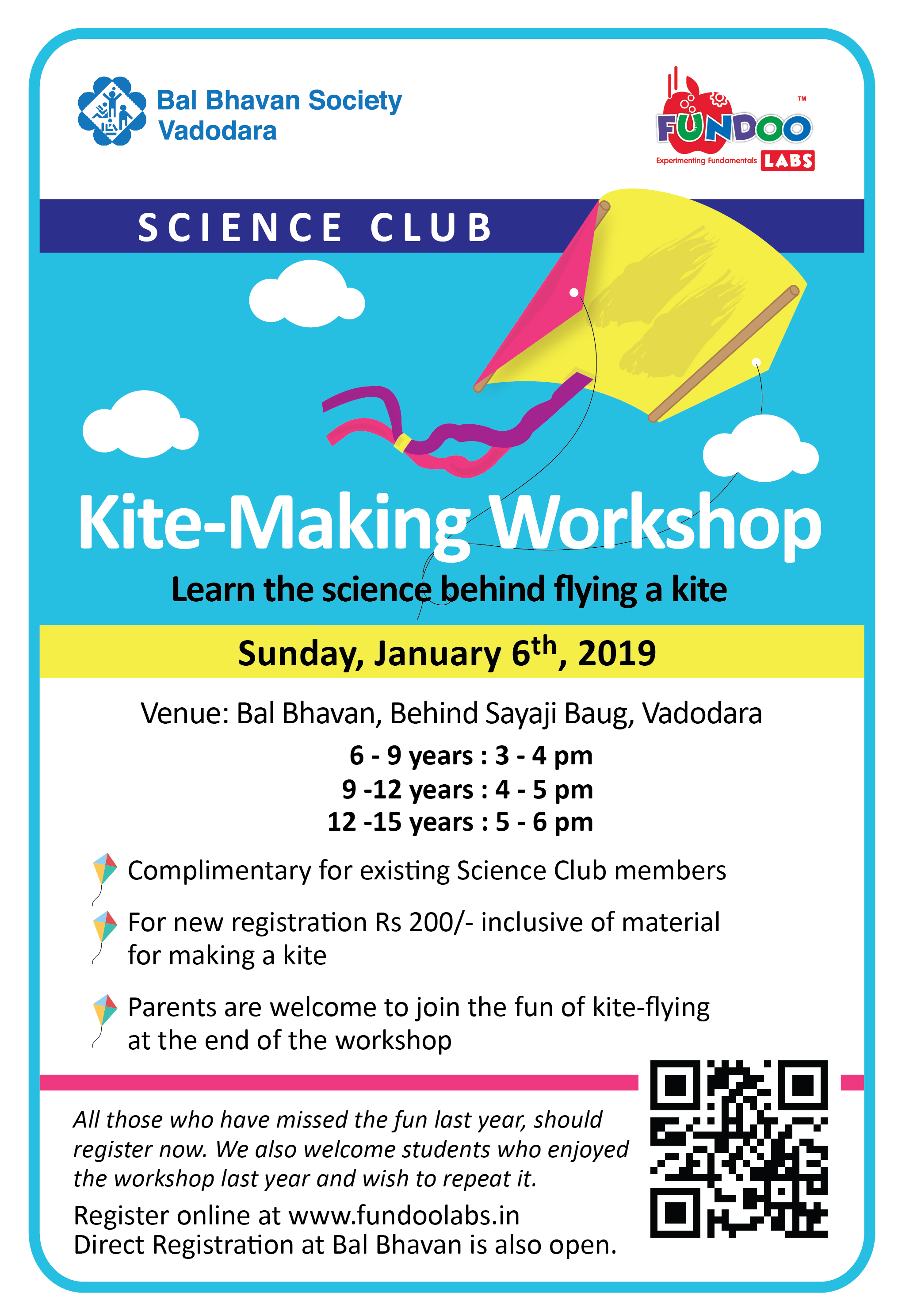 Kite Making Workshop 2019