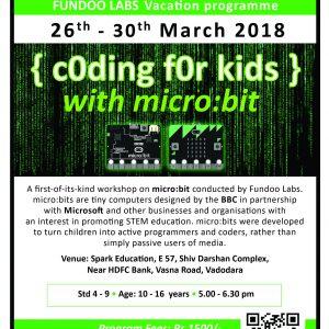 Coding For Kids (@Spark Education, Vasna Road)