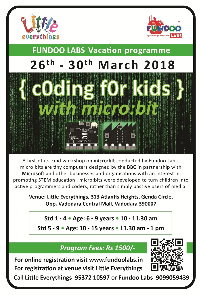 Coding For Kids @Little Everything, Genda Circle