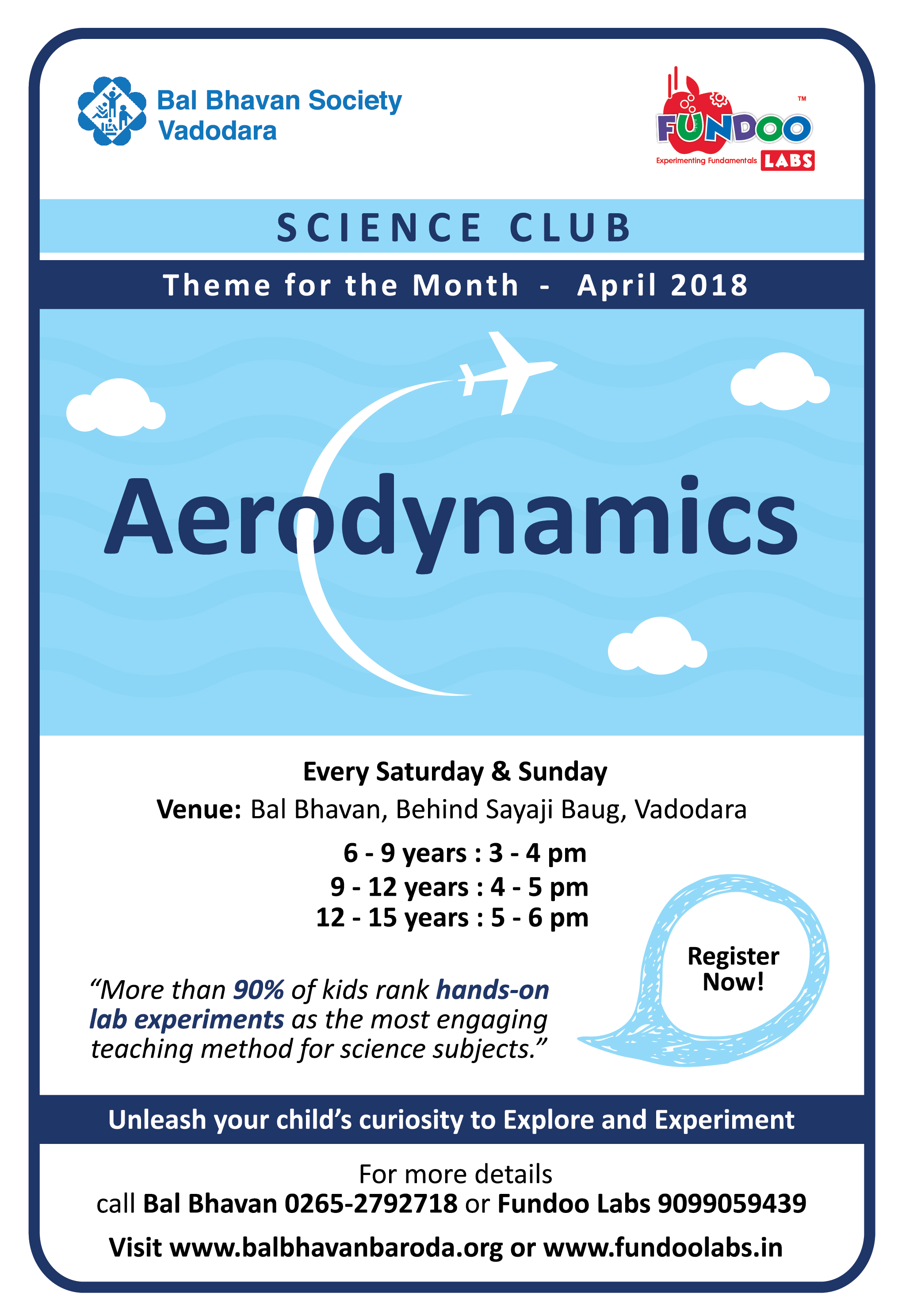 Science Club Ad-april18