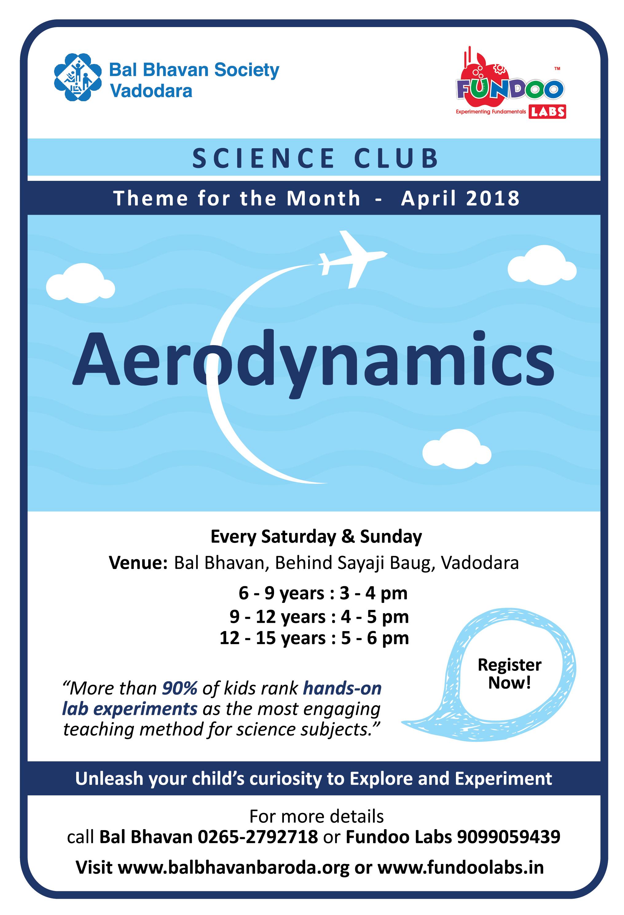 Science Club Ad-april18