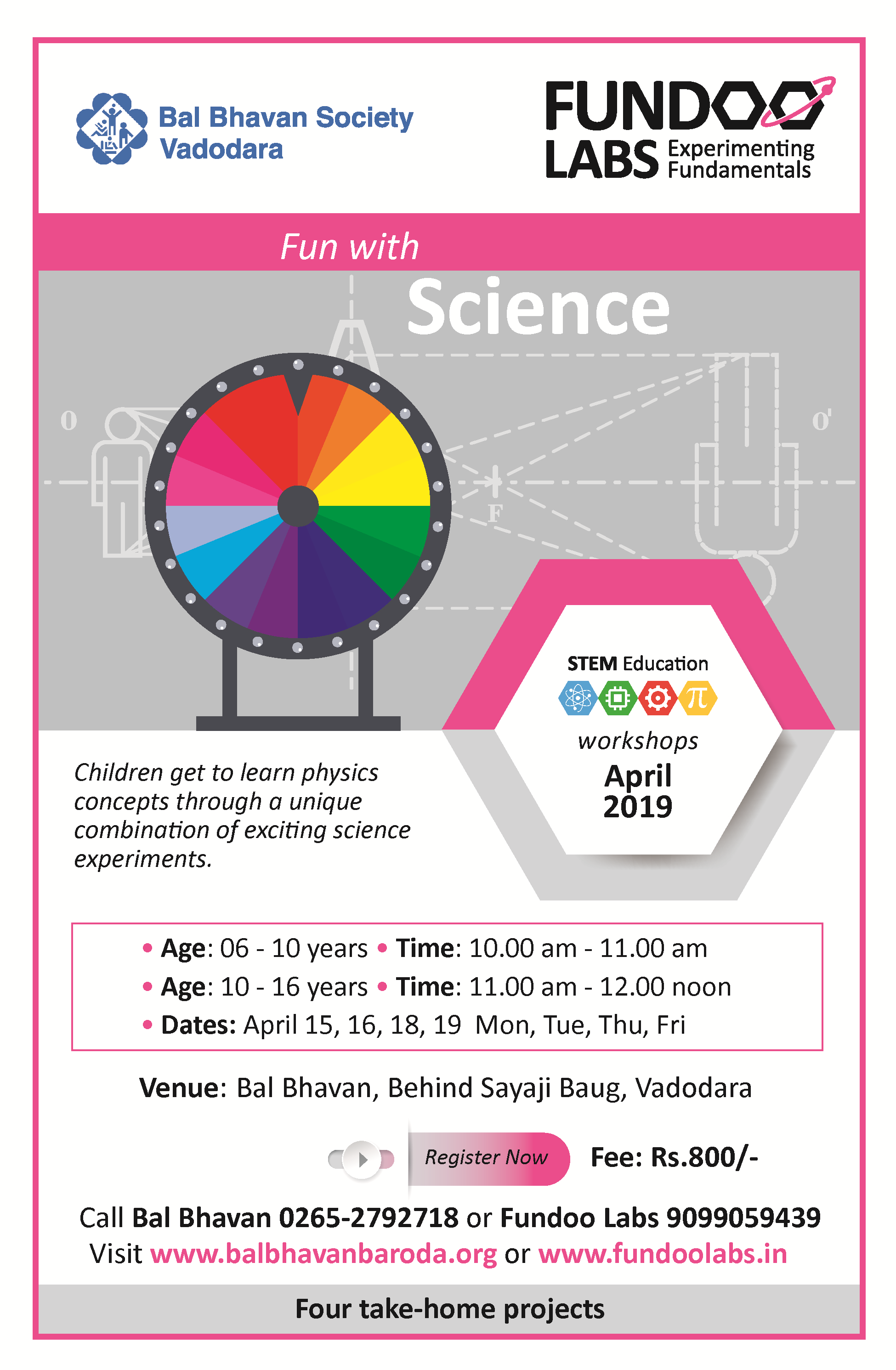 Fun Science April
