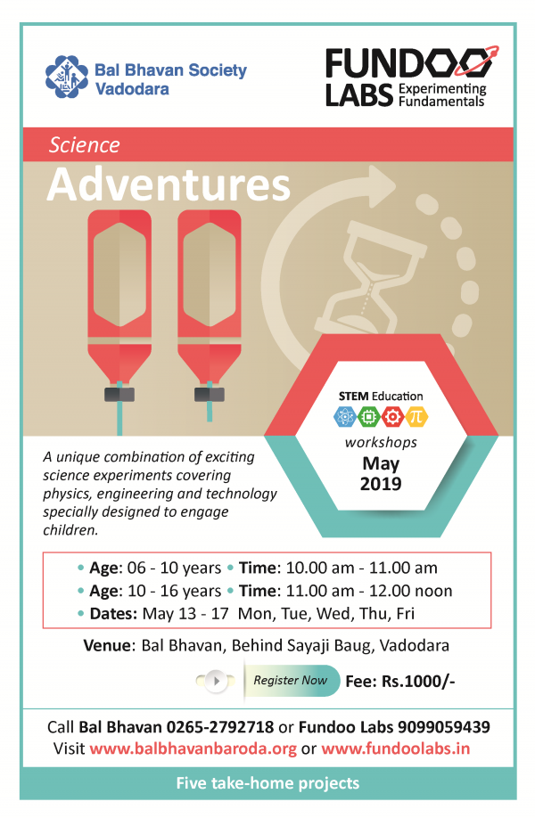 Science Adventures May