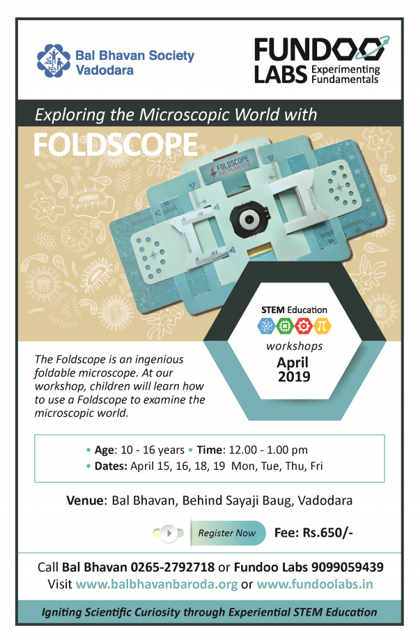 Foldscope April