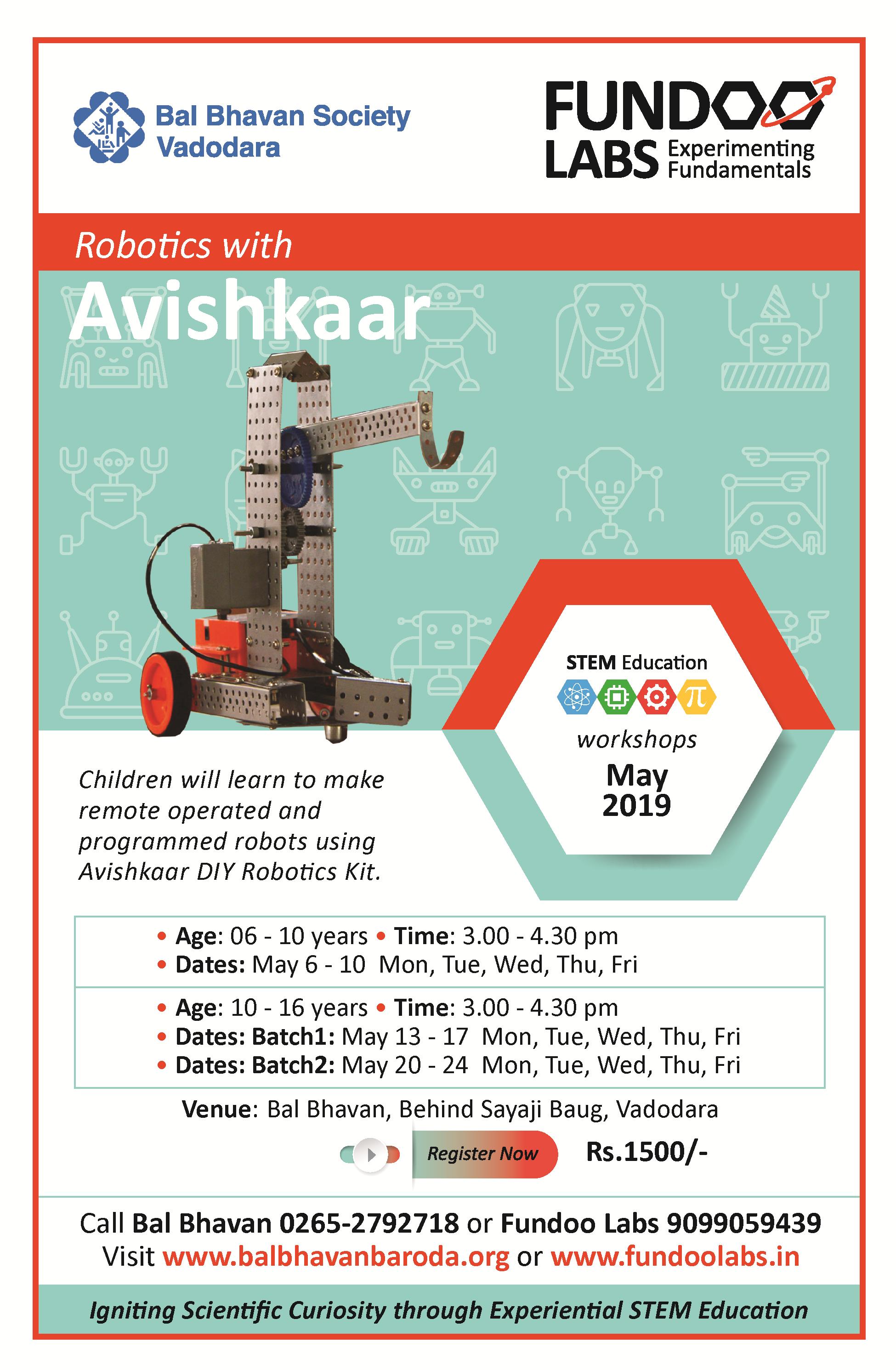 Robotics Avishkar May