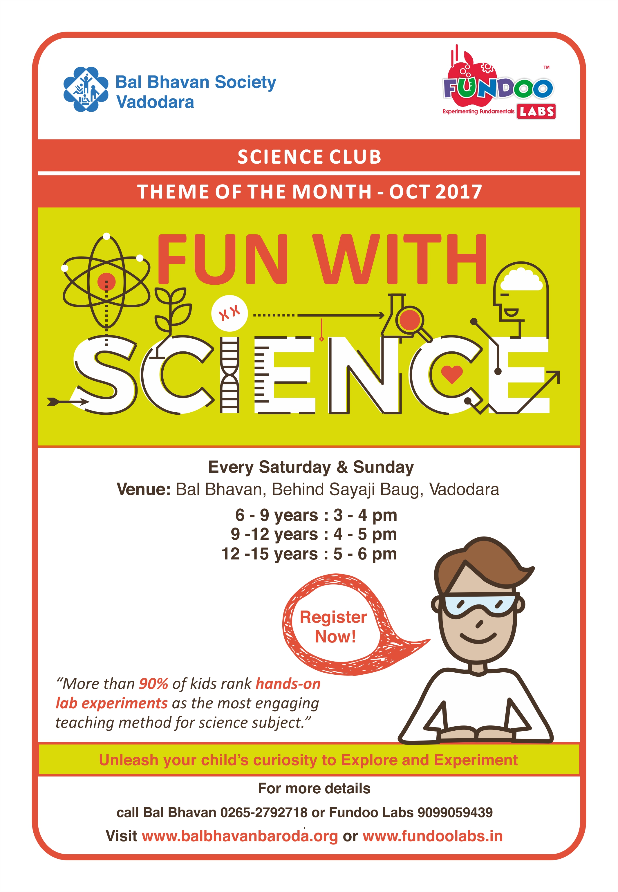 Science Club Oct 2017