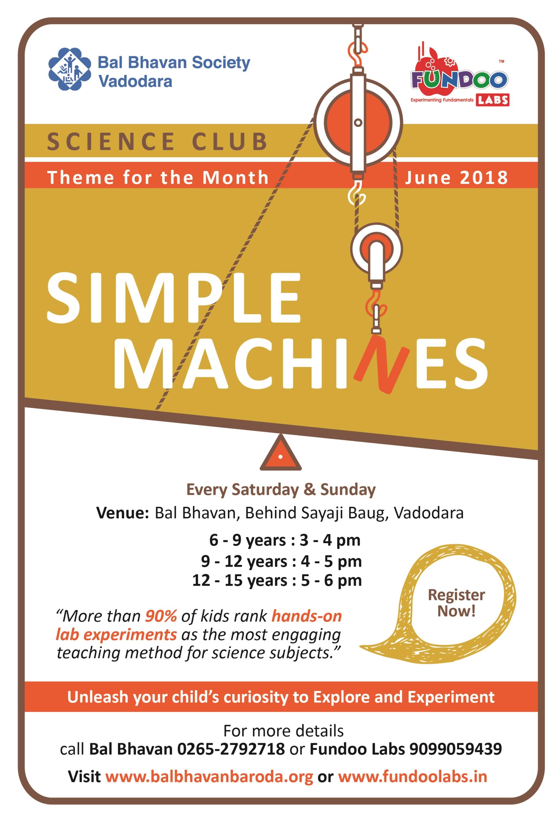 Science Club Ad-March18