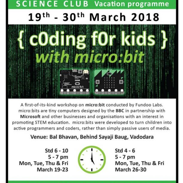 Coding For Kids (@Balbhavan, Karelibaug)