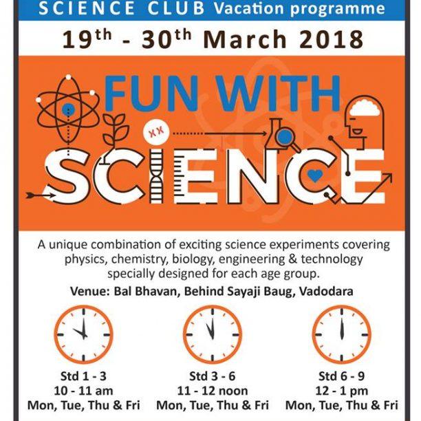 Fun With Science (@Bal Bhavan, Karelibaug)