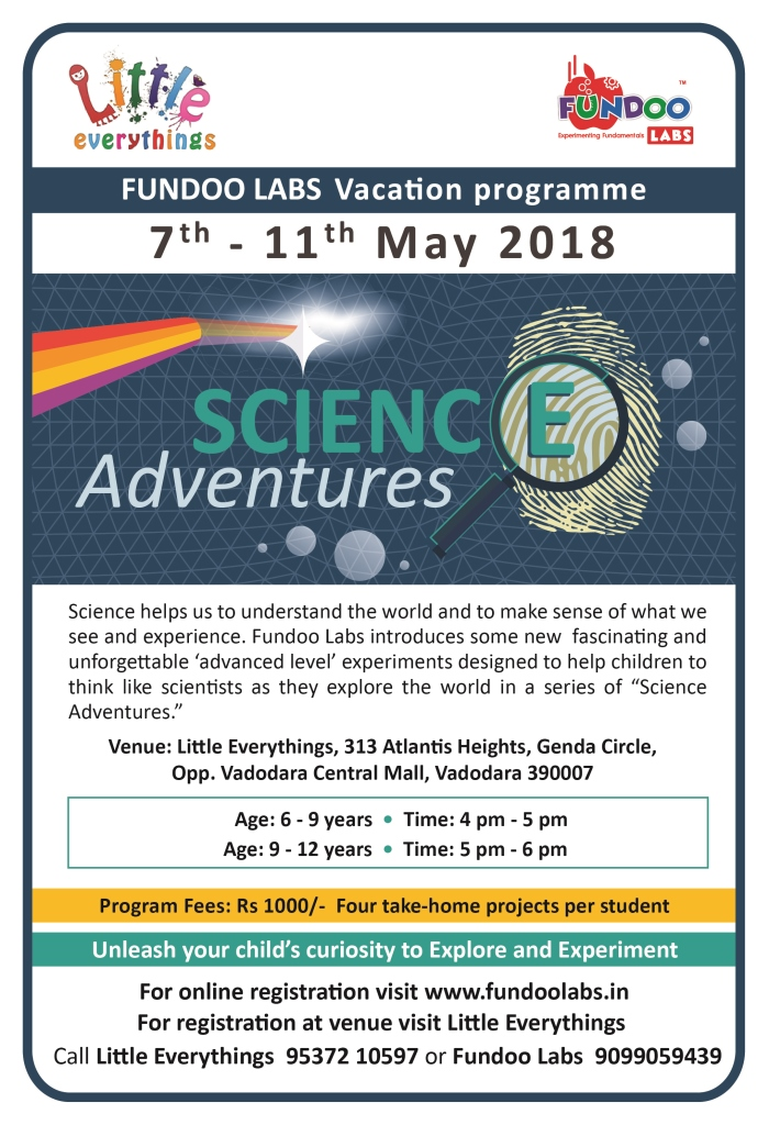 Science Adventures-May