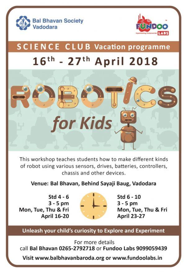 Robotic For Kids Balbhavan