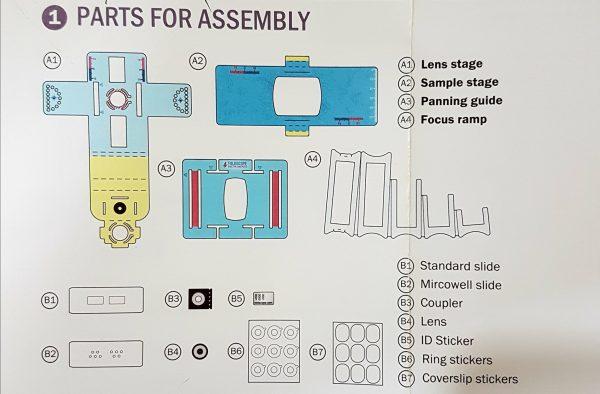 Basic Foldscope Kit