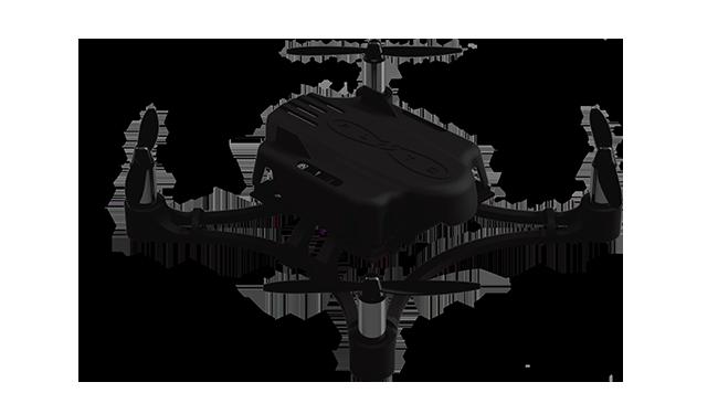 All Black Pluto Drone