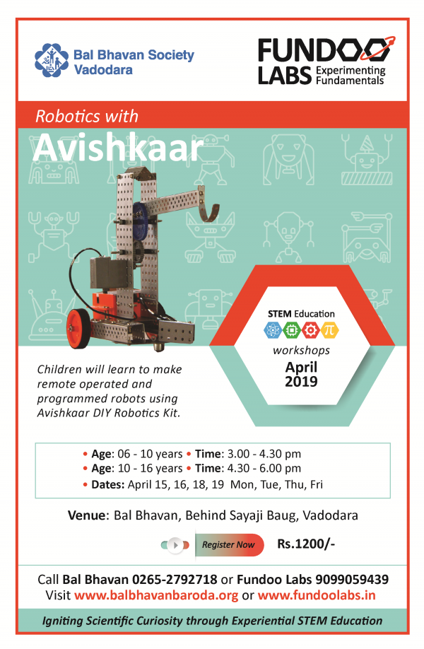 Robotics Avishkar April