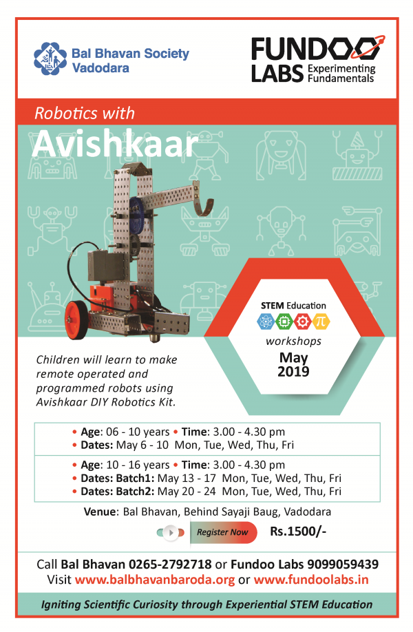 Robotics Avishkar May